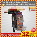 Modificado para requisitos particulares por calle de acero inoxidable móvil carrito de comida para la venta