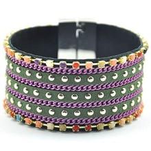 Wholesale 2015 fashion brand mens hand bracelets