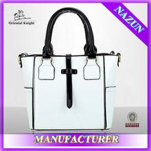 Newest design retail 2015 women handbag factory price