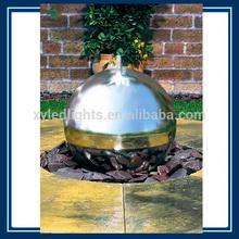 700mm stainless steel mirrow decorative sphere modern fountains garden