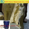 two component silicone rubber for art sculpture products