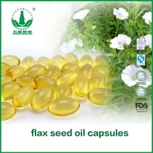 manufacture supply Organic linseed oil/capsules