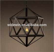 คริสตัลโคมไฟโคมระย้าจี้โบราณpolyhedral
