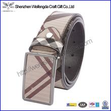 2015 new design promotion pretty wholesale leather belt