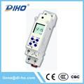 interruptor digital contador de tiempo electrónico