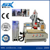 Auto tool changer cnc router for woodworking wood door making equipment