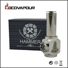 Durable Quality Gold   Black   SS Hammer Mod E-Cig Electronic Cigarette Hammer E PIPE Clone Made in China