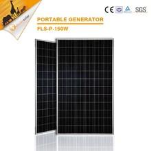150W Black Panel PV Poly Solar Panel best solar cell price