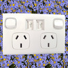 Australian Australia standard USB power point electrical wall switch socket USB charger