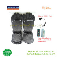 Smart 3 levels adjustable temperature battery heated gloves