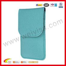 Blue Wool Felt Sleeve for iPhone 6 2015