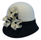 2014 wholesale hot splicing ladies fashion hat patterns