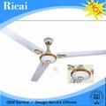 grau comercial ce cb recarregável do ventilador de teto com luzes led