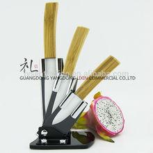 3 pcs small high quality christmas knife set ceramic