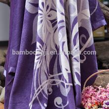 100% natural bamboo fiber blanket /comfortable blanket