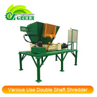 Various Use Plastic and Rubber Double Shaft Shredder