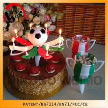 Patent football music birthday candle fancy