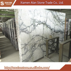 Low cost high quality gentleman white white marble with green veins
