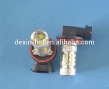 china supplierH11 fog light 80w cree auto bulb led light