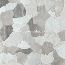 new design / new color /new feeling 0f rubble ceramic floor tile(600X600MM)