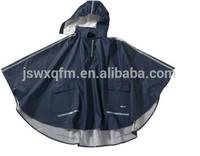 Waterproof cape rain poncho for kids