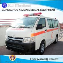 Toyota Haice High roof emergency ambulance car for sale