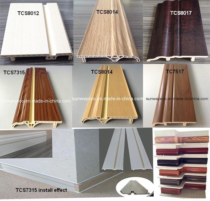 Keuken Plint Profiel : WPC plint keuken plint/decoratieve pvc plint-vloeren accessoires