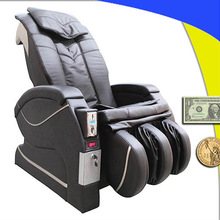 Paper money operated massage chair