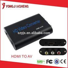HDMI to AV hd video converter