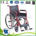 manual móvel dobrável cadeira de rodas para o paciente com deficiência cadeira de rodas