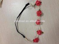 New design flowers hair bands for girls
