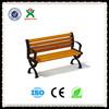 Durable park bench garden chair/wooden garden bench/garden bench wooden slats QX-144D