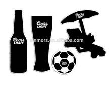 Hot sale chalkboard cup&football&beach chairs/adhesive chalkboard sticker
