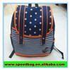 Fashionable school bags with belt middle school book bag korea school bag