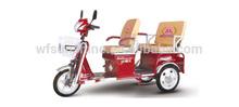 Unique design electric tricycle
