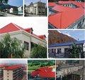 Asa couche synthétique pvc tuile/tuiles espagnol/matériaux de construction