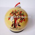 chino en elinterior pintado de vidrio de navidad bolas decorativas