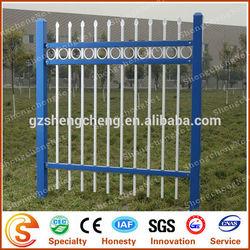 EU standard wrought iron fence finials