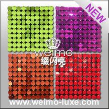 2015 new sequin shiny disc for wholesale decor wedding