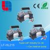 double 30mm high power portable car vehicle tool tire inflators electric metal vacuum air compressor pump LF-HL215