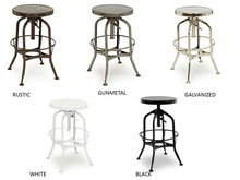 vintage toledo Retro metal bar chair/stool
