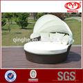 Rattan bali bettim freien& King-Size-Bett rund zum verkauf