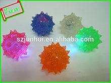 light up rubber meteorhammer bouncing ball