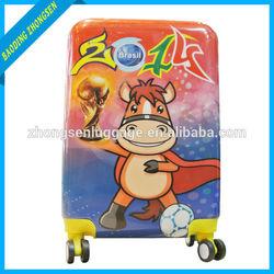 """PC 20"""" 24"""" animal print luggage locator four wheel trolley luggage"""