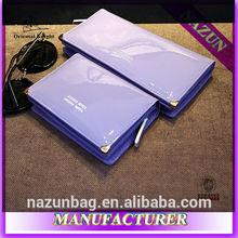 Hot sale! Lady cheap wallet pu leather wallet Korea Style lady wallet