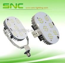 SNC LED factory lamps conversion, MH CFL HPS replacement, canopy gas station lights retrofit