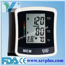 VP-B2206 CE FDA blood pressure monitor wrist