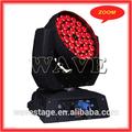 Wledm-11-4 36 unids rgbw 10 w led zoom wash luces principales móviles decoazioni partes