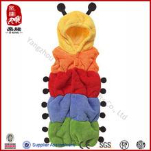 EN71 cute caterpillar shaped baby sleeping bag