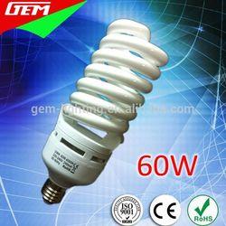 DEN-60 High Quality Spiral Compacta Fluorescente Lampada 60W